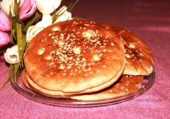 طرز تهیه نان فطیر اردبیل