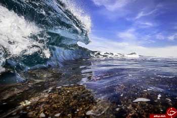 تصاویر حیرت آور از امواج دریا/ تصاویر