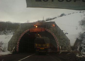 عکس تونل گردنه حیران اردبیل