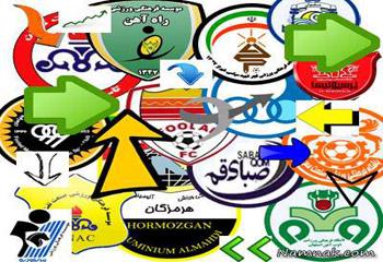 نقل و انتقالات لیگ برتر 96-97