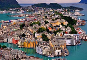 تصاویر واقعی و زیبا از طبیعت نروژ