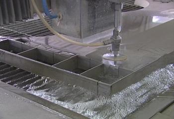 برش با جت آب – Water Jet Cutting