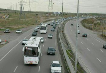 تردد کامیون در محور اردبیل - آستارا ممنوع شد