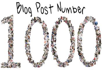 هزارمین پست وبسایت