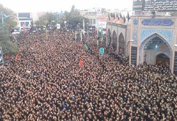 تجلی شور و شعور حسینی در پایتخت حسینیت+تصاویر
