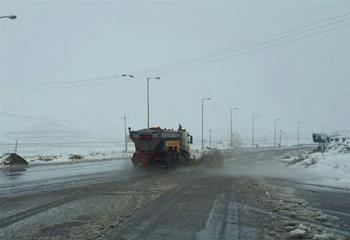 بارش برف برای اردبیل در راه است