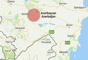 زلزله در جمهوری آذربایجان مناطق مرزی اردبیل را لرزاند