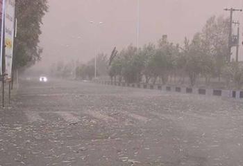 پیشبینی وقوع تندباد در اردبیل/بارش برف در راه است