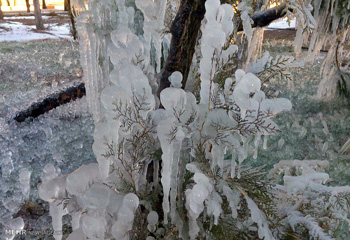 پیشبینی وقوع یخبندان در اردبیل/دما به منفی ۲۰ درجه میرسد