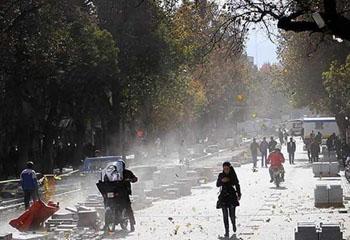 وقوع تندباد در اغلب مناطق استان اردبیل/بارشهای رگباری در راه است