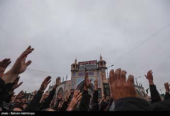 اجتماع عزاداران دارالارشاد اردبیل در روز تاسوعا