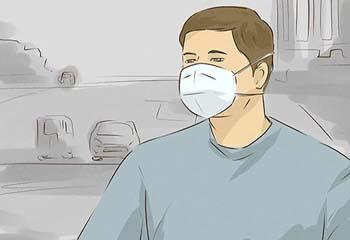 نحوه صحیح پوشیدن ماسک صورت N95